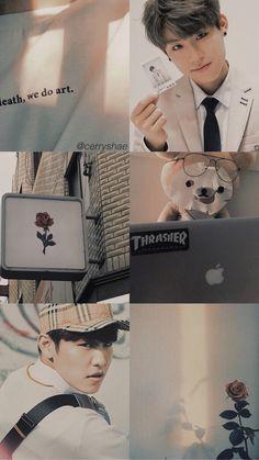 You Re My Sunshine, Wallpaper Aesthetic, Music Drawings, Drama Korea, Ha Sungwoon, Love Me Forever, Tumblr Wallpaper, Seong, Korean Music
