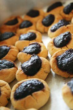 Blackberry Thumbprint Cookies