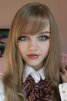 Real life doll look a like