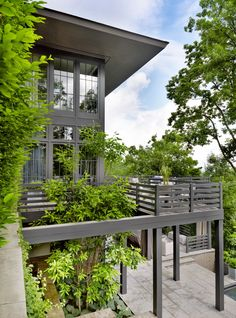 Modern Exterior by Ray Booth in Nashville, TN