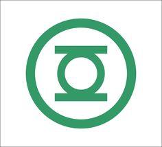 Green Lantern logo Vinyl Decal, DC Comics, Justice League, Superman, Batman #DecalDrama