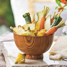 Southern Pickle Recipes: Sweet-and-Sour Veggie Pickles