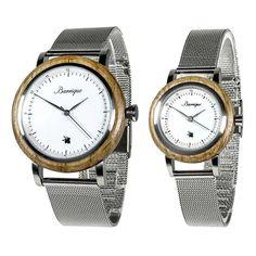 Drevené hodinky pre páry so Zľavou a s dopravou ZDARMA – waidzeit.sk Watches, Leather, Accessories, Wristwatches, Clocks, Jewelry Accessories