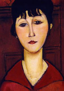 Modigliani one of the fave faces in my home :)