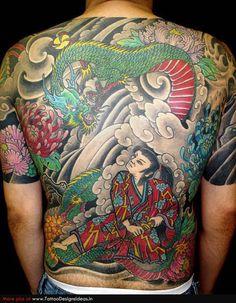 Japanese. #Irezumi (Shading Tattoos) 入れ墨.   入墨.  文身.  剳青 .   黥 .   刺青 .