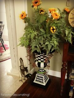 Forever Decorating!: Fall Around the House   (great blog to follow!)
