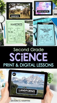 Science Curriculum, Science Resources, Science Lessons, Science Activities, Teaching Resources, Easy Science Experiments, Learn Science, Teaching Science, Second Grade Science