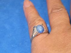 J-19 Vintage Ring 925 silver    size 6 by HipTrends2015 on Etsy