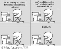 Le me and spoilers