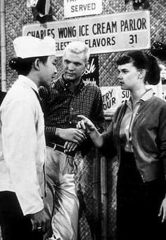 """The Many Loves of Dobie Gillis"" (1959-1963) Dwayne Hickman & Sheila James"