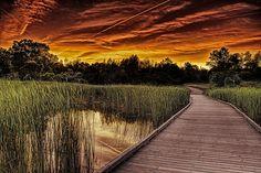 """A Cokin sunset"""