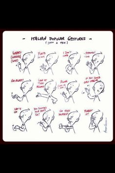 Italian sign language