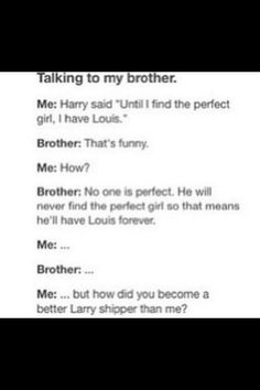 I wish my brother was larry trash