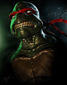 Teenage Mutant Ninja Turtles - Raphael by Jonathan Straughan