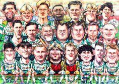 Foci Történelem: FERENCVÁROS A BL-ben Karikatúra az 1995-96-os csapatról Football, Movies, Movie Posters, Soccer, Futbol, Films, Film Poster, Cinema, American Football