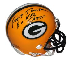 "AAA Sports Memorabilia LLC - Fuzzy Thurston Green Bay Packers Autographed Green Mask Mini Helmet Inscribed ""5X NFL Champ"", $79.95 (http://www.aaasportsmemorabilia.com/nfl/fuzzy-thurston-green-bay-packers-autographed-green-mask-mini-helmet-inscribed-5x-nfl-champ/)"