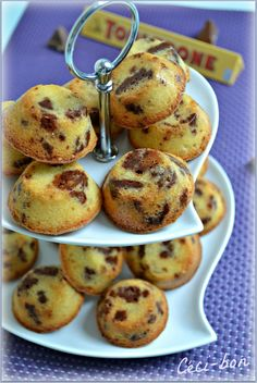 Bouchées toblerone #recette #gâteau #toblerone #facile
