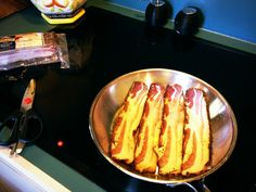 Petit Jean thick cut pepper bacon - get your Yum on!