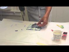 Encaustic on Clay Video - YouTube