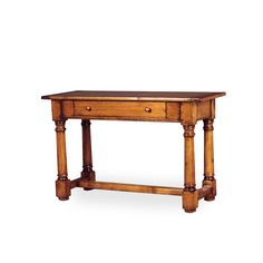 6030 – Tudor Leg Console with Drawer – Hyde Park Home