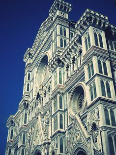 Love this cathedral in Florence, Italy!  You can't see the pink and green granite, but it's gorgeous!  Still sad that I didn't make it to the top of the dome.
