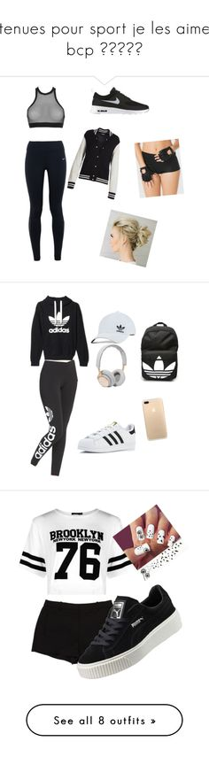"""""""tenues pour sport je les aime bcp ♥♥♥♥♥"""" by lola-madridista ❤ liked on Polyvore featuring NIKE, Dsquared2, La Senza, Marc Jacobs, adidas Originals, adidas, B&O Play, L'Agence, Boohoo and Puma"""