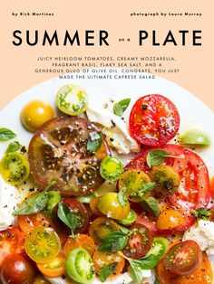 """Summer on a Plate"" from Bon Appétit, August 2017. Read it on the Texture app-unlimited access to 200+ top magazines."