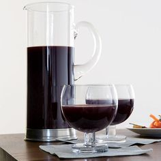 Mulled Red Wine with Muscovado Sugar | Faced with two half-empty bottles of Zinfandel, Marcia Kiesel came up with this warm mulled wine, spiced with fennel seeds and cinnamon.
