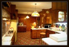 Graceland Kitchen by Cindy - Vintage To New, via Flickr #Elvis #Graceland