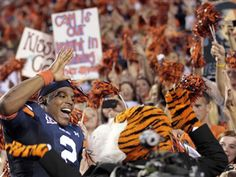 WAR CAM EAGLE!--those are my and my roomies signs in the background :) oh yeah...we are AWESOME! @Hillary Thompson