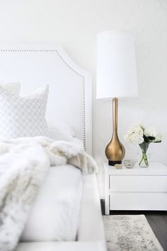 Dreaming Of An All White Room? Consider Playing With Texture And Textiles  To Create Depth And A More Luxurious Effect. Details Stand Out More Than  Ever In A ...