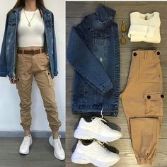 Cute fall outfit ideas to copy right now Casual Work Outfits, Cute Fall Outfits, Winter Fashion Outfits, Mode Outfits, Outfits For Teens, Chic Outfits, Trendy Outfits, Summer Outfits, Girl Outfits