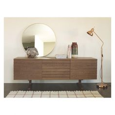 ENZO Walnut-stained sideboard | Buy now at Habitat UK