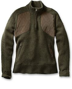 For some reason, I really like this Field Sweater from Eddie Bauer. Maybe because it makes me think of fall. Or because it's probably the most expensive sweater EB sells . . .