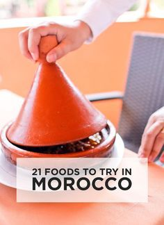 Morocco was full of unique flavors. See the 21 Moroccan foods you must try when visiting Morocco (depending on how adventurous you like to eat) // http://localadventurer.com