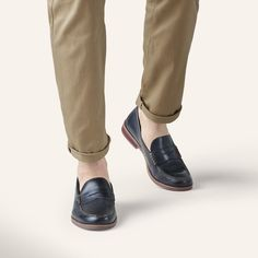 Not your average penny loafers.