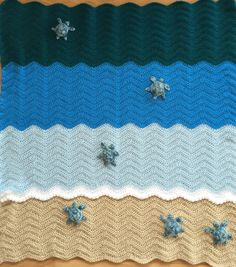 Sea Turtle Blanket, Crochet Crib Blanket, Baby Blanket, Throw, Ready To Ship by InChains on Etsy https://www.etsy.com/listing/244192106/sea-turtle-blanket-crochet-crib-blanket