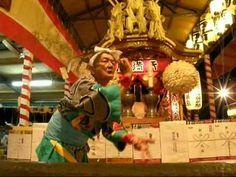 天神祭 大阪天満宮 龍踊り(2011宵宮)Dragon dance
