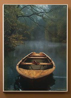 Old Lake Hanging Framed Print | Home Décor | Acacia Catalog