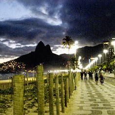 Walkway along Rio's Copacabana beach. #DerekLam #DesigNation #Kohls