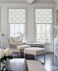 Damask classic silver gray patterned custom by DecorativaDesign