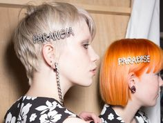 The Best Backstage Hair Looks From London Fashion Week AW17