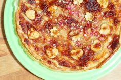 Clavel's Cook: Tarte de maçã e romã com doce de figo