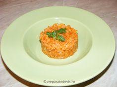 Orez cu legume de post Risotto, Grains, Bob, Rice, Ethnic Recipes, Home, Diet, Fine Dining, Cooker Recipes