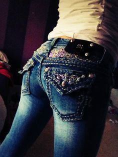 """Miss me jeans ♥♥✮✮❁❁❁♡♥♡♥ Thanks, Pinterest Pinners, for stopping by, viewing, re-pinning, & following my boards. Have a beautiful day! ^..^ and """"Feel free to share on Pinterest ^..^ #topfashion #FashionClothingandAccessories #fashionandclothingblog *•.¸♡¸.•**•.¸ ┊ ┊ ┊ ┊ ┊ ┊"""
