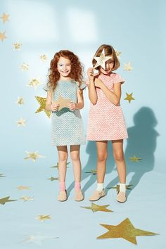 Pantone 2016. Rosa y celeste. Moda infantil.