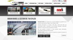 Completo, dinamico e facilmente fruibile, online il nuovo sito Iridium Doors