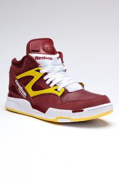 Reebok Pump Omni Lite Jack Threads, Washington Redskins, Leather Sneakers, Reebok, Cool Outfits, Kicks, Vans, Footwear, Sneakers Nike