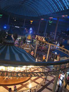 World's largest indoor theme park, South Korea