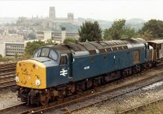 40025Durhamc.1982 Electric Locomotive, Diesel Locomotive, Steam Locomotive, Train Room, Standard Gauge, British Rail, Whistler, Diesel Engine, Airplanes